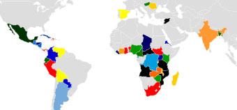 Mapa SED