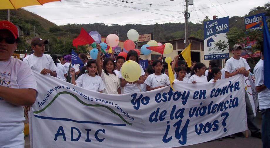PAZ manifestación